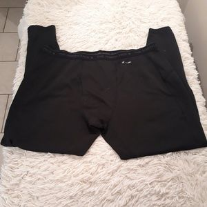 The north face compression pants men xl black